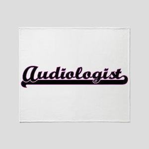 Audiologist Classic Job Design Throw Blanket