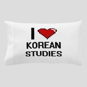 I Love Korean Studies Pillow Case