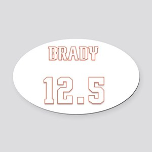 Brady 12.5 psi Oval Car Magnet