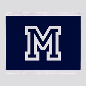 Your Team Monogram Throw Blanket