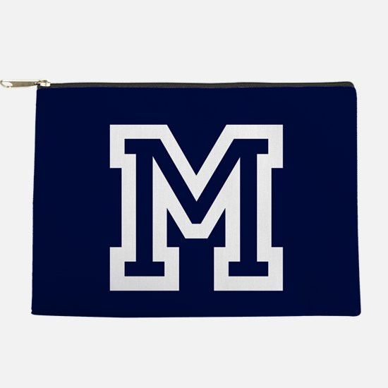 Your Team Monogram Makeup Pouch