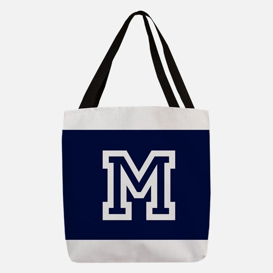 Your Team Monogram Polyester Tote Bag