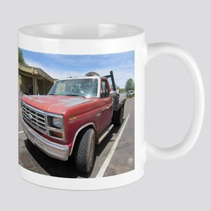Old Red Truck Mugs