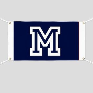 Your Team Monogram Banner