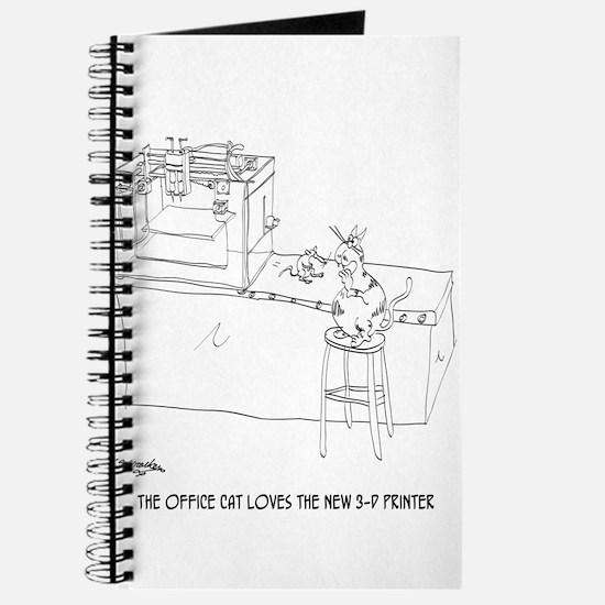 Cat Cartoon 9261 Journal