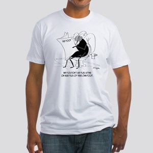 Toilet Cartoon 9263 Fitted T-Shirt