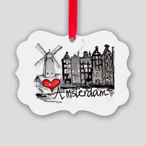 I love Amsterdam Picture Ornament