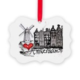 Amsterdam Picture Frame Ornaments