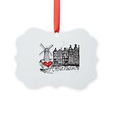 Amsterdam Aluminum Ornaments