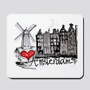 I love Amsterdam Mousepad