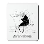 Toilet Cartoon 9263 Mousepad
