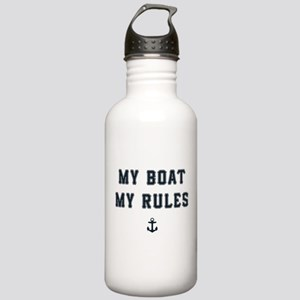 My Boat My Rules Stainless Water Bottle 1.0L