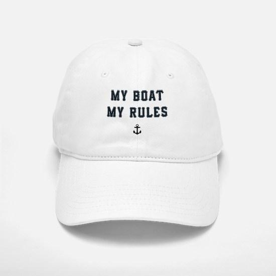 My Boat My Rules Baseball Baseball Cap