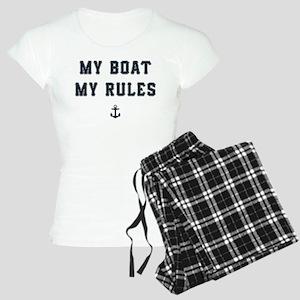 My Boat My Rules Women's Light Pajamas