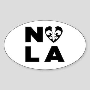NOLA Sticker (Oval)