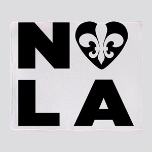 NOLA Throw Blanket