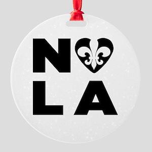 NOLA Round Ornament