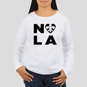 NOLA Women's Long Sleeve T-Shirt