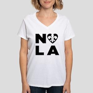 NOLA Women's V-Neck T-Shirt