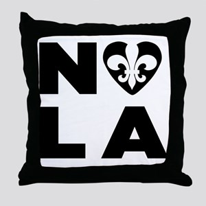 NOLA Throw Pillow