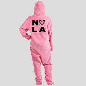 NOLA Footed Pajamas