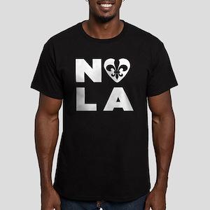 NOLA Men's Fitted T-Shirt (dark)