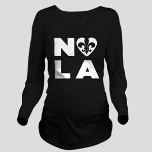 NOLA Long Sleeve Maternity T-Shirt