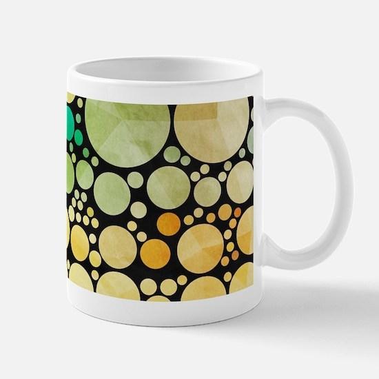 mod circles pattern Mugs