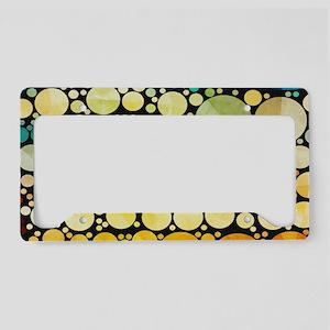 mod circles pattern License Plate Holder