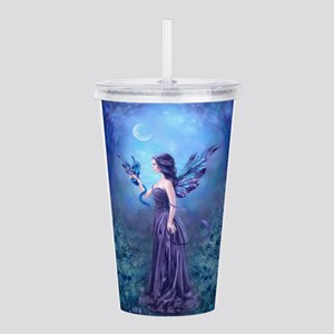 Iridescent Fairy And Acrylic Double-Wall Tumbler