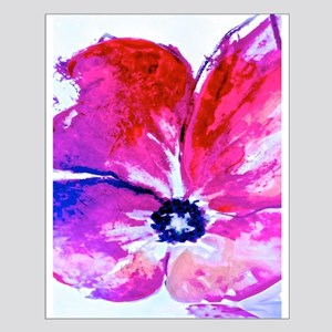 Watercolor Flower Posters Small Poster