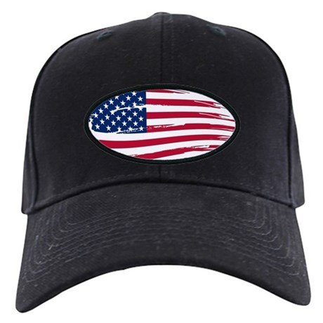 11046561829 Tattered US Flag Baseball Hat by Admin CP11861778