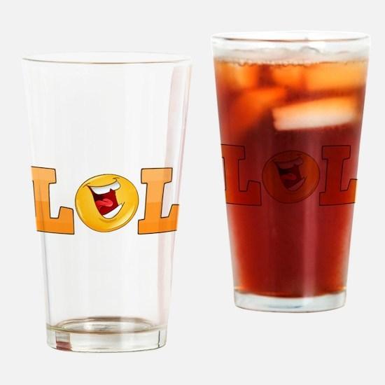 LOL Drinking Glass