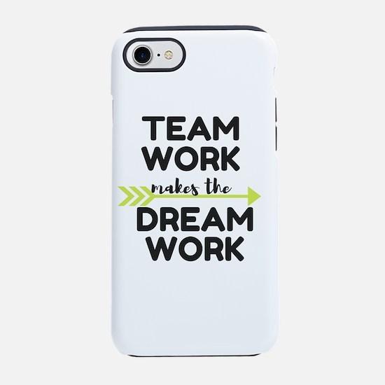 Team Work 2 iPhone 7 Tough Case