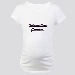 Information Assistant Classic Jo Maternity T-Shirt
