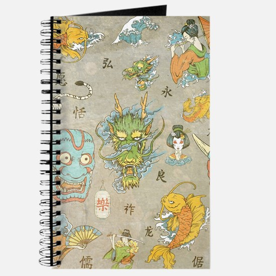 Japanese Collage Journal