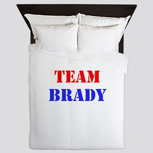 Team Brady Queen Duvet