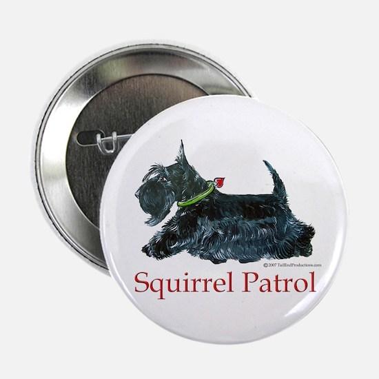 """Scottie Squirrel Patrol 2.25"""" Button"""