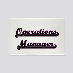 Operations Manager Classic Job Design Magnets