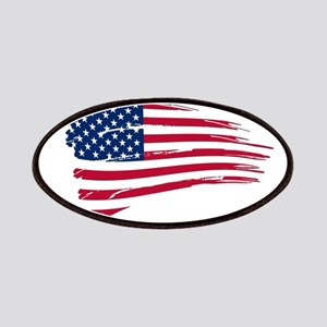 Tattered US Flag Patch