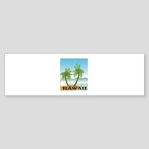 more hawaii paradise Bumper Sticker