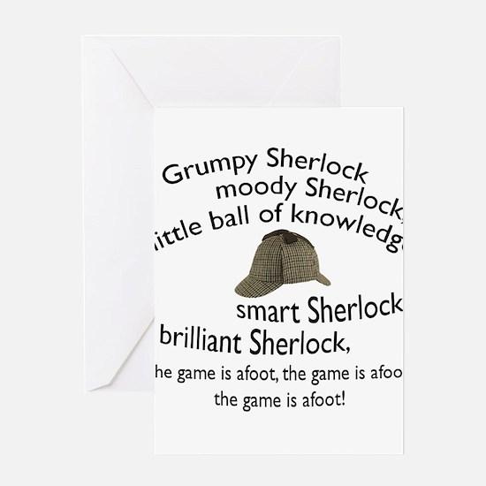Soft Sherlock Song Greeting Cards
