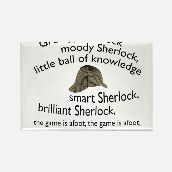 Soft Sherlock Song Magnets