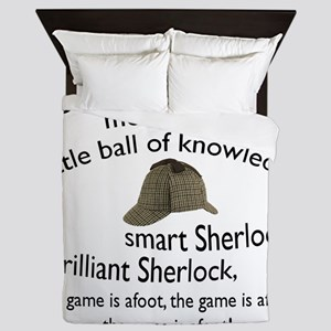 Soft Sherlock Song Queen Duvet