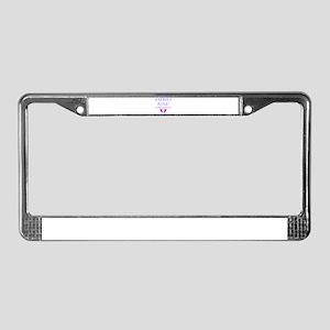 Faeries Rule License Plate Frame