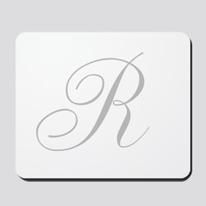 Elegant Monogram You Personalize Mousepad