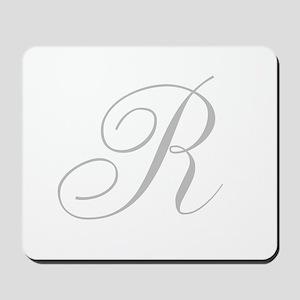 Elegant Monogram You Personalize Mousepad