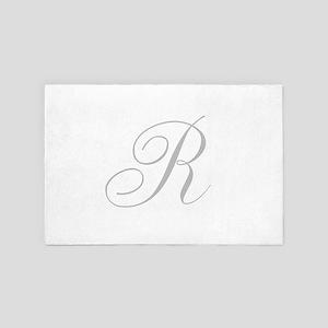 Elegant Monogram You Personalize 4' x 6' Rug