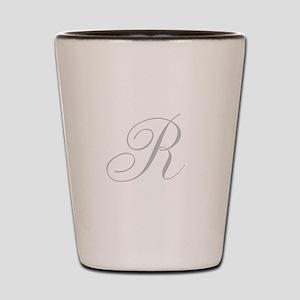 Elegant Monogram You Personalize Shot Glass