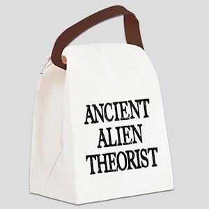 Ancient Alien Theorist Canvas Lunch Bag
